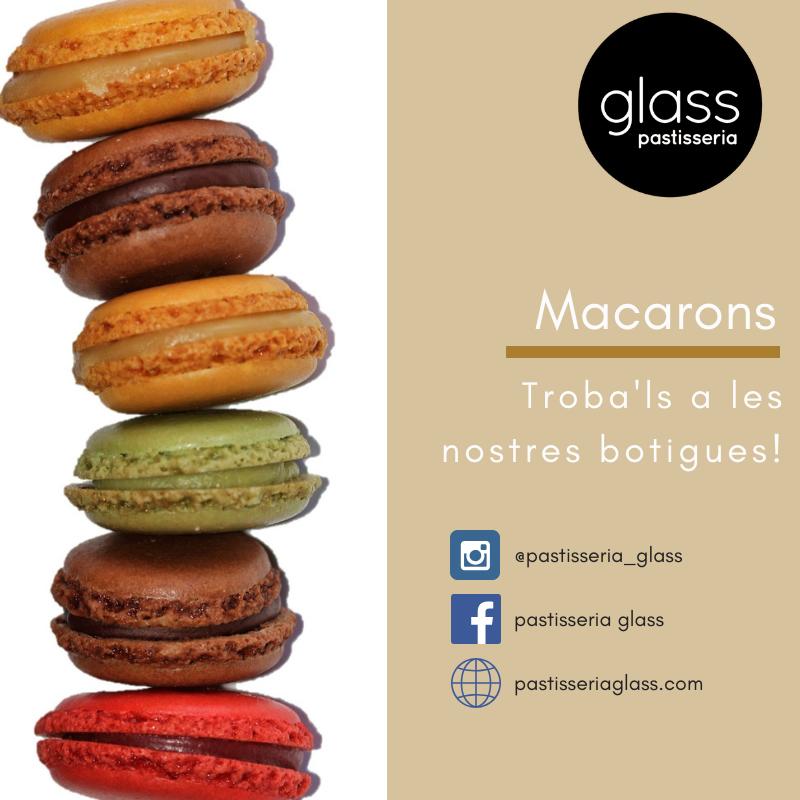 Macarons artesans de laGlass